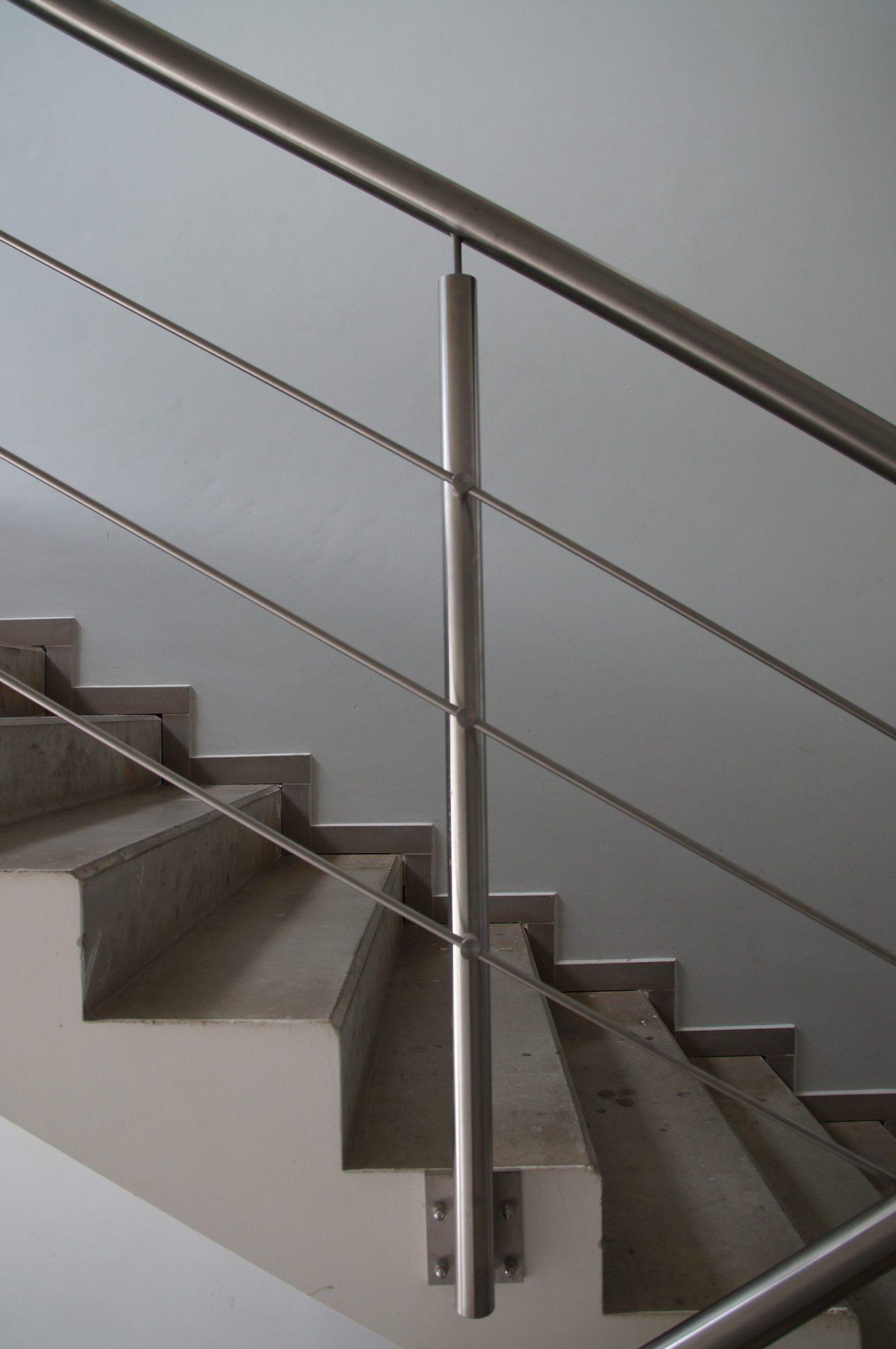 Framed Steel Balustrades In London Inox City Ltd