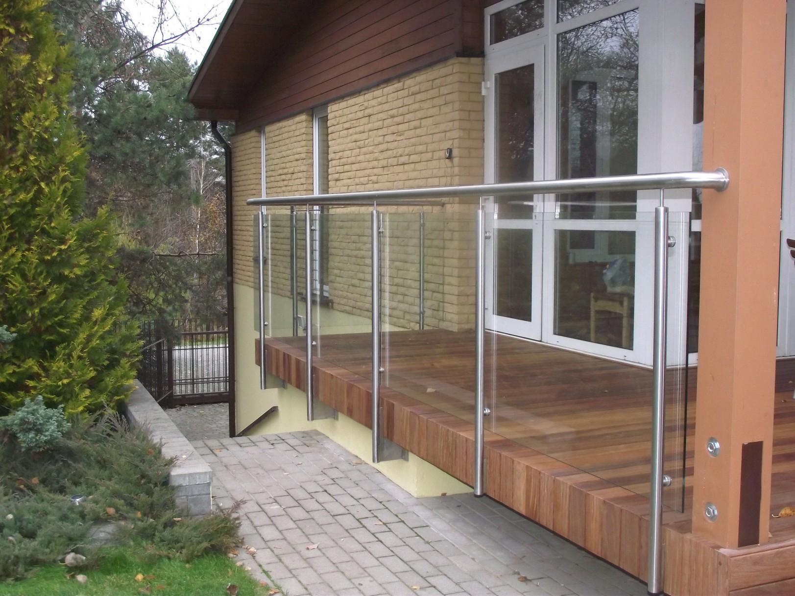 Framed Glass Balustrade