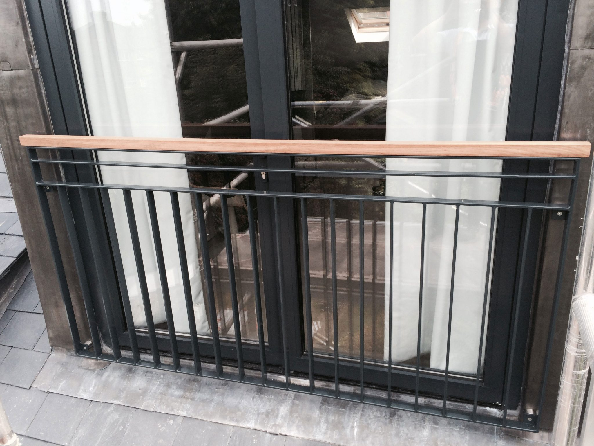 Glass juliet balcony in london inox city ltd for What is a balcony