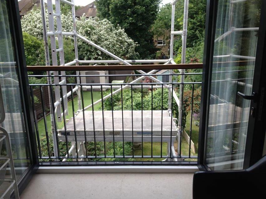 Glass Juliet Balcony In London Inox City Ltd