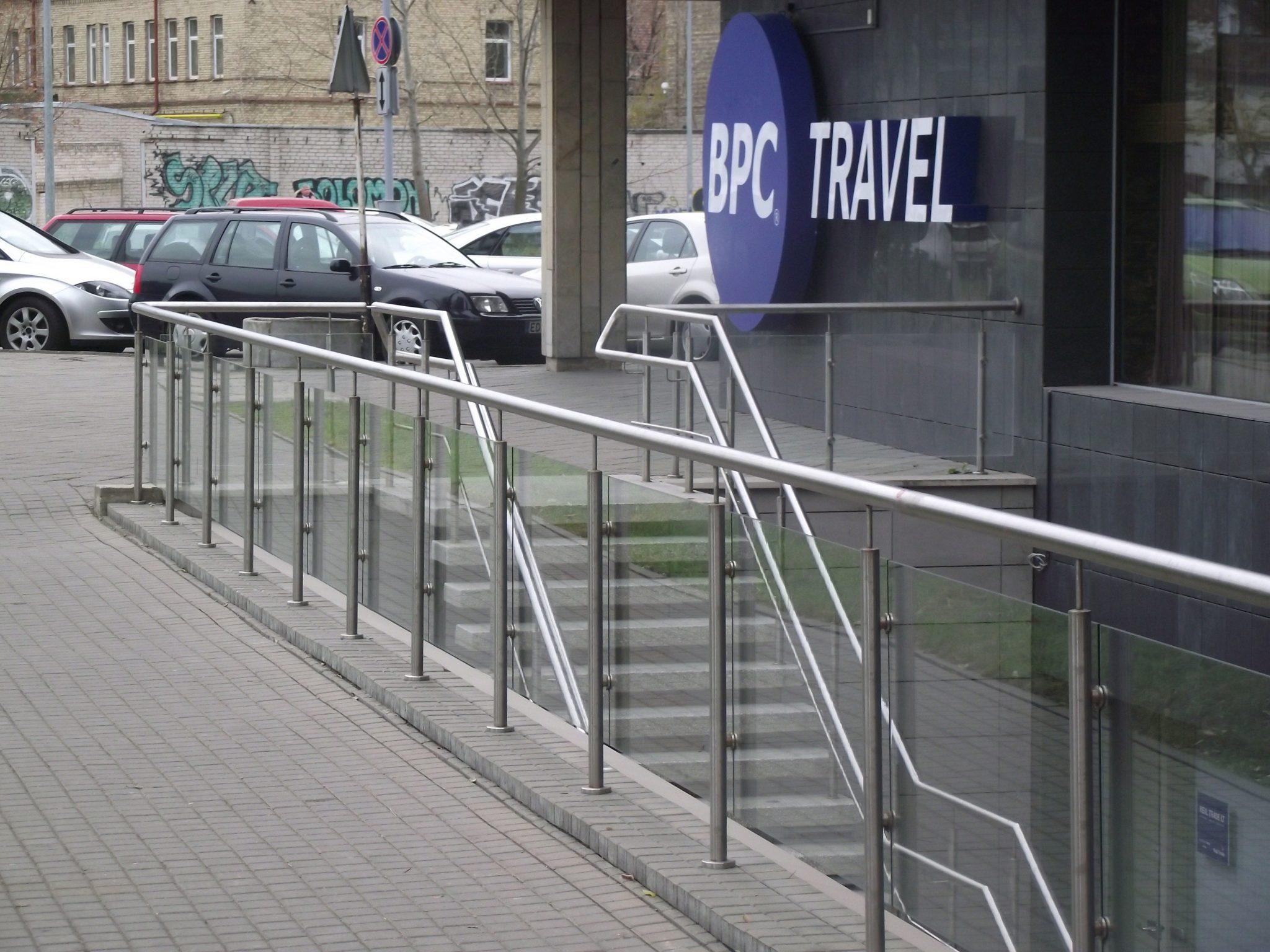 framed steel balustrades in london inox city ltd. Black Bedroom Furniture Sets. Home Design Ideas