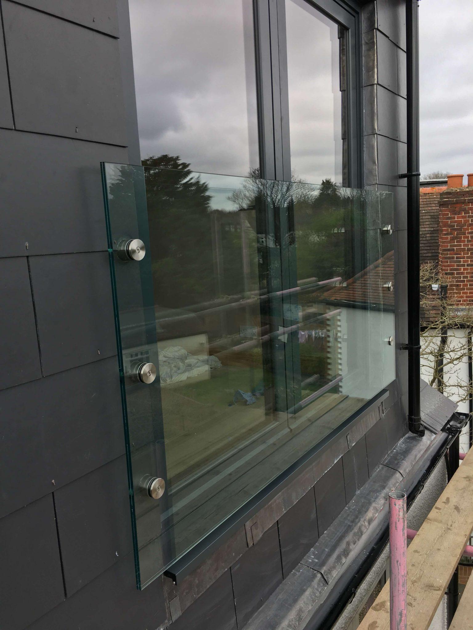 glass juliet balcony in london inox city ltd. Black Bedroom Furniture Sets. Home Design Ideas